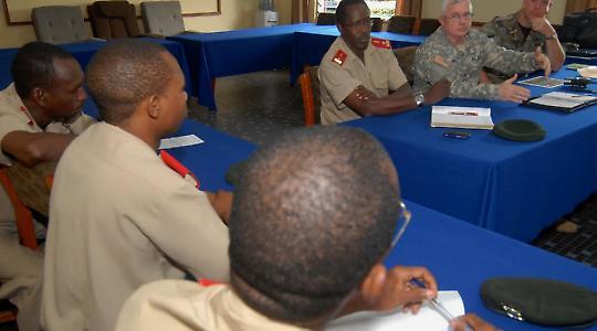 In Burundi und anderen afrikanischen Staaten bildet amerikanisches Militär für den Einsatz in Somalia aus