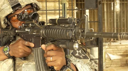 US-Soldat im Irak 2007