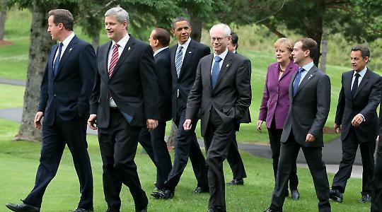 G8-Treffen in Hunstville