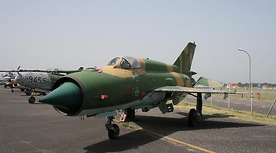MiG 21 der NVA <br/>Foto von Ronny Stiffel