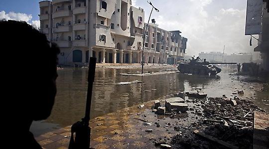 Die umkämpfte Stadt Sirte