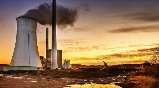 Kohlekraftwerk Ensdorf <br/>Foto von Wolfgang Staudt