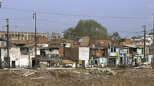 Slum in Indien <br/>Foto von niharq