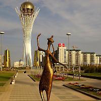 Kasachstans Haupstadt Astana <br/>Foto von Martin Solli, Flickr