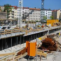 Marthashöfe im Bau