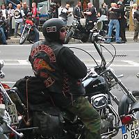 Als Männer noch echte Männer waren: Rocker-Treffen in Berlin 2008