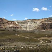 Tagebergbau in Yanacocha