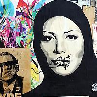 Straßenkunst in Los Angeles <br/>Foto von Lord Jim