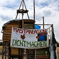 Protestcamp in Wietze <br/>Foto von binaryCoco