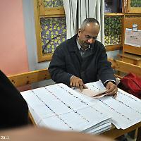 Wahllokal in Ägypten