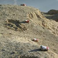 Minenfeld in Afghanistan <br/>Foto von Carl Montgomery