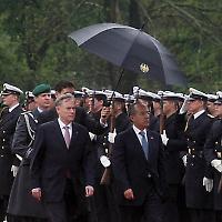 Köhler mit El Presidente Felipe Calderón <br/>Foto von der mexikanischen Bundesregierung