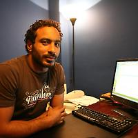 Auch der Blogger Mohammed al-Sharqawy landete im Gefängnis <br/>Foto von madmonk