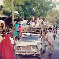 Transport in Mogadischu <br/>Foto von ctsnow
