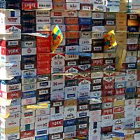 Zigarettenschmuggel im Kosovo