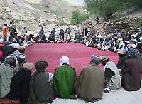Dorfrat in der Provinz Panjshir