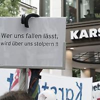 Arbeitskampf in Hamburg 2009