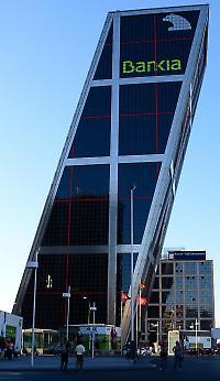 Verschiebebahnhof: Die Konzernzentrale der spanischen Bankia