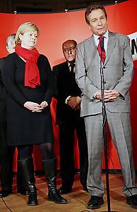 Nicht Marianne und Michael: Gesine Lötzsch und Klaus Ernst  <br/>Commons